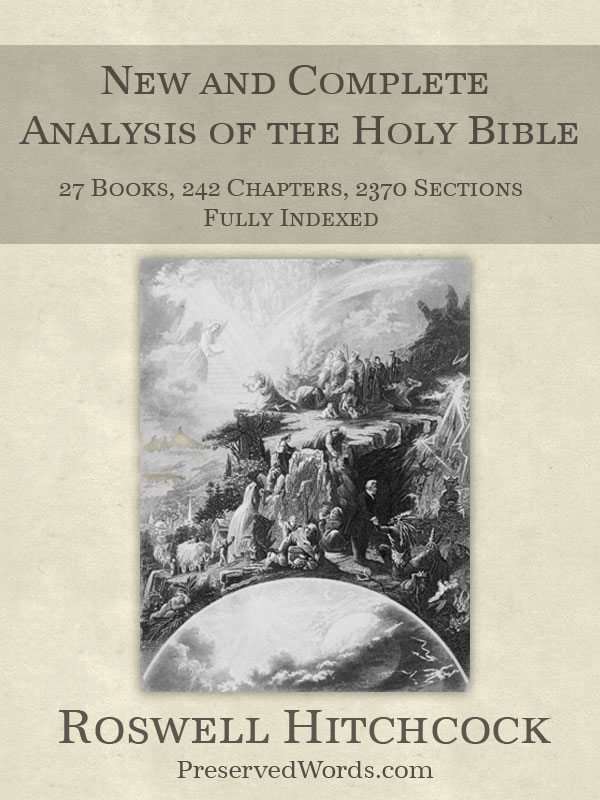 Hitchcock's New and Complete Analysis of the Holy Bible